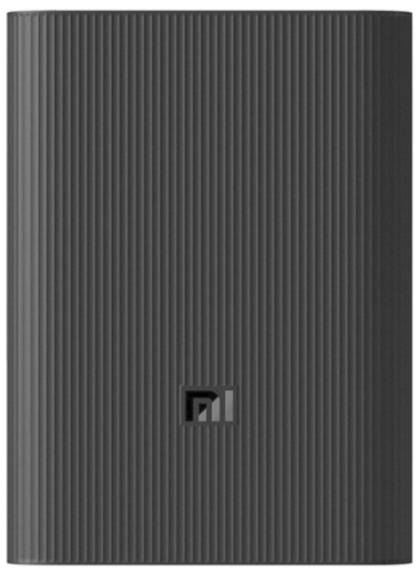10000mAh Mi Battery Power Bank 3 Ultra Compact/Portable fast Charge with USB-C/A