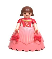 Playmobil Figure Princess Castle Girl Child Wedding Flower Girl Hoop Skirt 4137