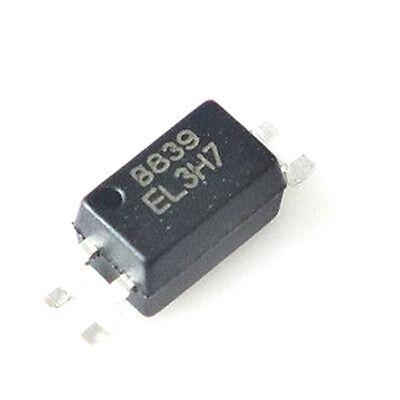 5Pcs EL3H7B EL3H7 SOP-4 Photoelectric Coupler Isolator Chip IC