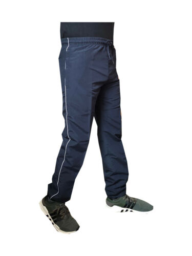 Mens Elasticated Work lightweight Tracksuit Trousers Joggers Bottoms Pants