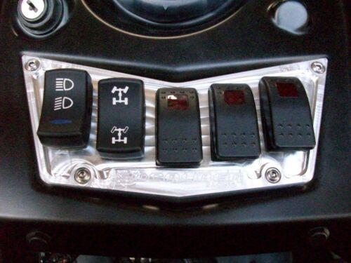 Polaris Ranger RZR 800 s xp900 570 crew 4x4 700 Razor Dash Panel /& 3+2 switch