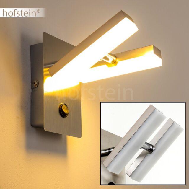 4x 3 Watt LED Wand Leuchte Wohn Ess Schlaf Bade Zimmer Lampe Spiegel Licht Flur