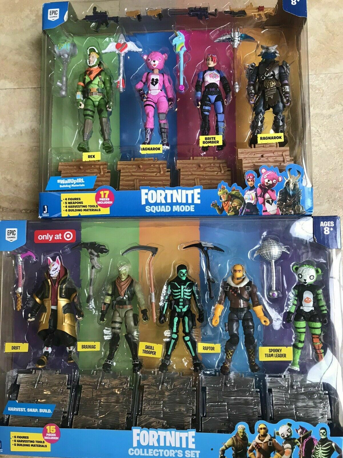 Fortnite Collector's Set Target Exclusive Action Figure 5-pack