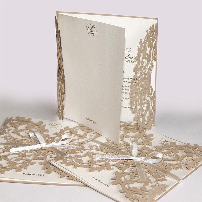 Einladungskarten Hochzeit FE113E mit Umschlag  Hochzeitseinladungskarte | Elegant Und Und Und Würdevoll  | Kaufen Sie beruhigt und glücklich spielen  | Großer Räumungsverkauf  22b06d