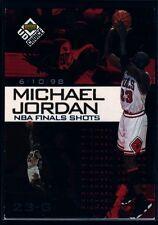 MICHAEL JORDAN  BULLS NBA FINAL SHOTS SP 1998-99 UD CHOICE PREVIEW 4 CHICAGO