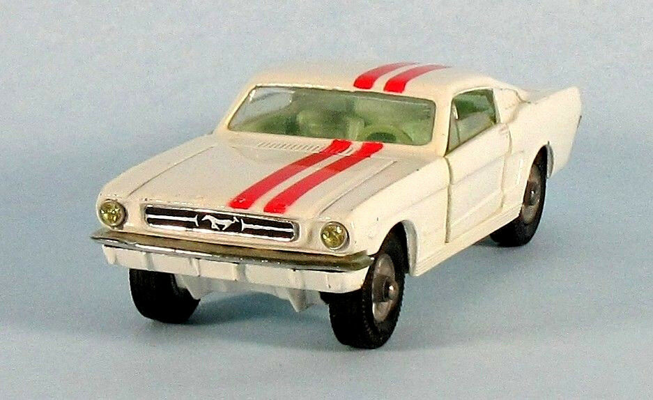 CORGI FORD MUSTANG vintage 2+2 (Blanc) 1 43 Scale Diecast modèle ultra-rare
