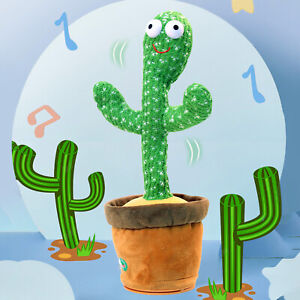 Dancing Cactus Plush Toy Electronic Shake with Song Cute Dance Succulent Lovers