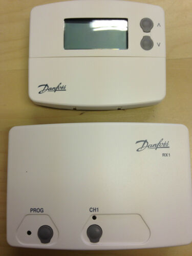 Danfoss Tp5000si Wireless Programmable Room Thermostat And Rx1