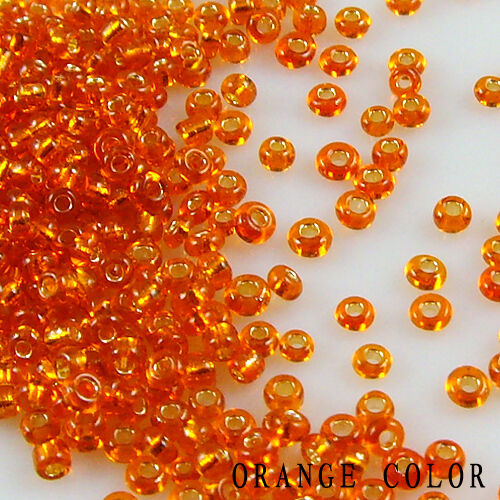 500x 3 mm Czech Glass Seed Spacer beads Jewelry Making DIY 12 Color Free P/&P
