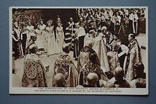 R&L Postcard: HM Queen Elizabeth II Coronation, Archbishop of Canterbury