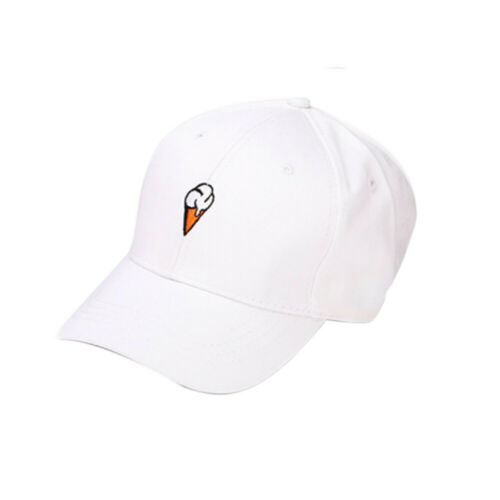 Women Simple Peaked Hat HipHop Curved Strapback Snapback Baseball Cap adjustable