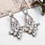New-Elegant-Women-Crystal-Resin-Flower-Ear-Stud-Eardrop-Dangle-Earring-Jewelry thumbnail 5