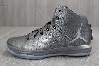 """Nike Air Jordan XXXI 31 Premium """"Battle Grey"""" ~ 914293 013 ~ Uk Size 9"""