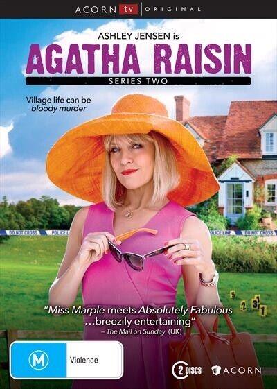 Agatha Raisin : Season 2 (DVD, 2-Disc Set) NEW