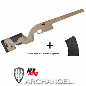 Details about ProMag Archangel Opfor Stock AA9130-DT + 10rd Magazine AA762R  for Mosin Nagant