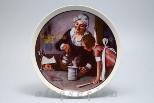 amerikanische Knowles 1982 The Cooking Lesson D 21,6 cm Bradex Mother´s Day