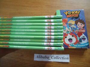 Details Sur Lot Yo Kai Watch 1 A 12 Bibliotheque Verte Livre Jeunesse Integrale Yokai