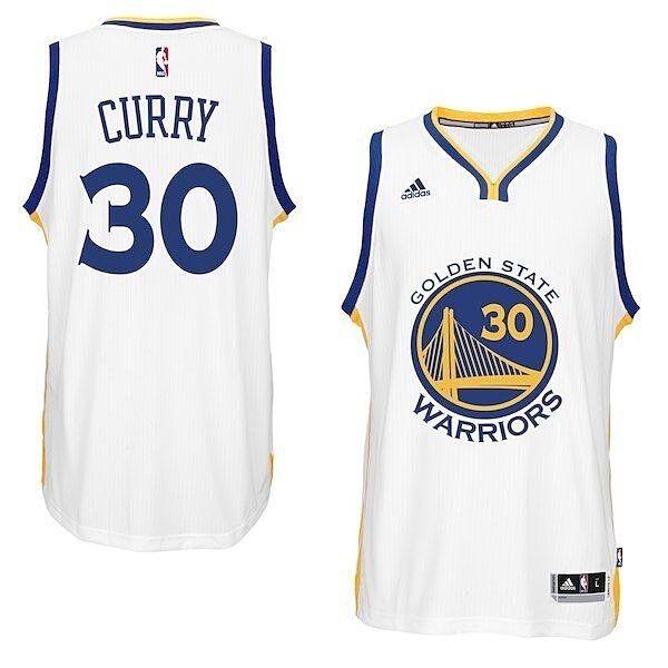 golden State Warriors adidas NBA Swingman Home Jersey Stephen Curry Size XL