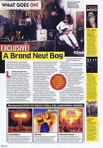 NEU orginal press clipping  2009 21x29cm - Bournemouth, United Kingdom - NEU orginal press clipping  2009 21x29cm - Bournemouth, United Kingdom