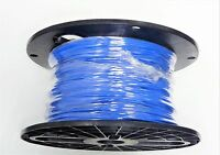 16 Gauge Wire Blue 500' Spool Primary Awg Stranded Copper Power Ground Mtw Vw-1