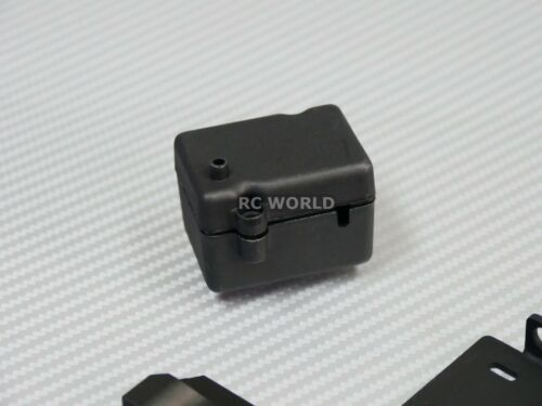 Right  BLACK V2 For Axial SCX10 II Side Step Running Boards SKID PLATES Left
