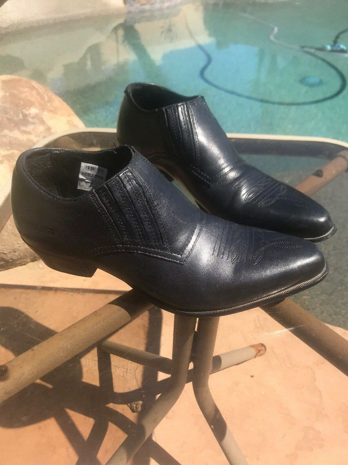 Durango Wos shoes Boots Low Ankle RD3520 US US US 7 M Black Leather Heels Bixa4 5ca3ce