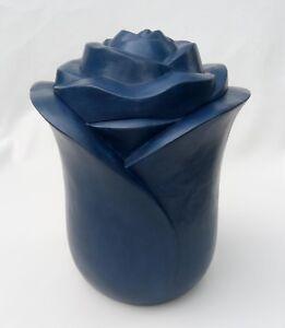 Tierurne Urne  Graburne Keramik Glanz Schwarz