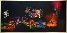 "Ghosts and Goblins ENORMOUS 50"" x 24""  World Map Nintendo Video Game Poster"