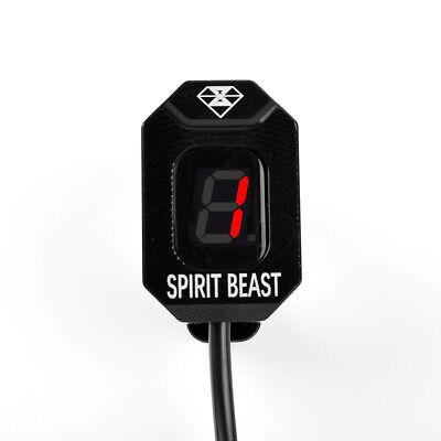 Blue For Honda GL1800 CB600F CBR600FS CBR900RR CBR929RR CBR1100XX CBR954RR Motorcycle Waterproof 1-6 Level Gear Indicator Digital Gear Meter