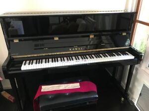 Kawai K Series Professional Upright Pianos >> Details About Kawai K 3 Upright Piano Black Ebony