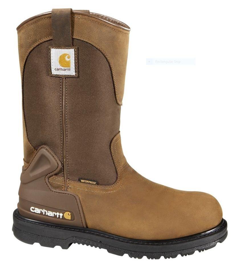Carhartt Men's Bison 11'' Waterproof Steel Toe Work Boots CMP 1200