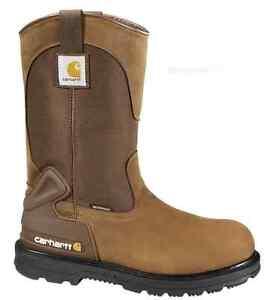 Carhartt Men/'s Bison 11/'/' Waterproof STEEL TOE Work Boots CMP1200