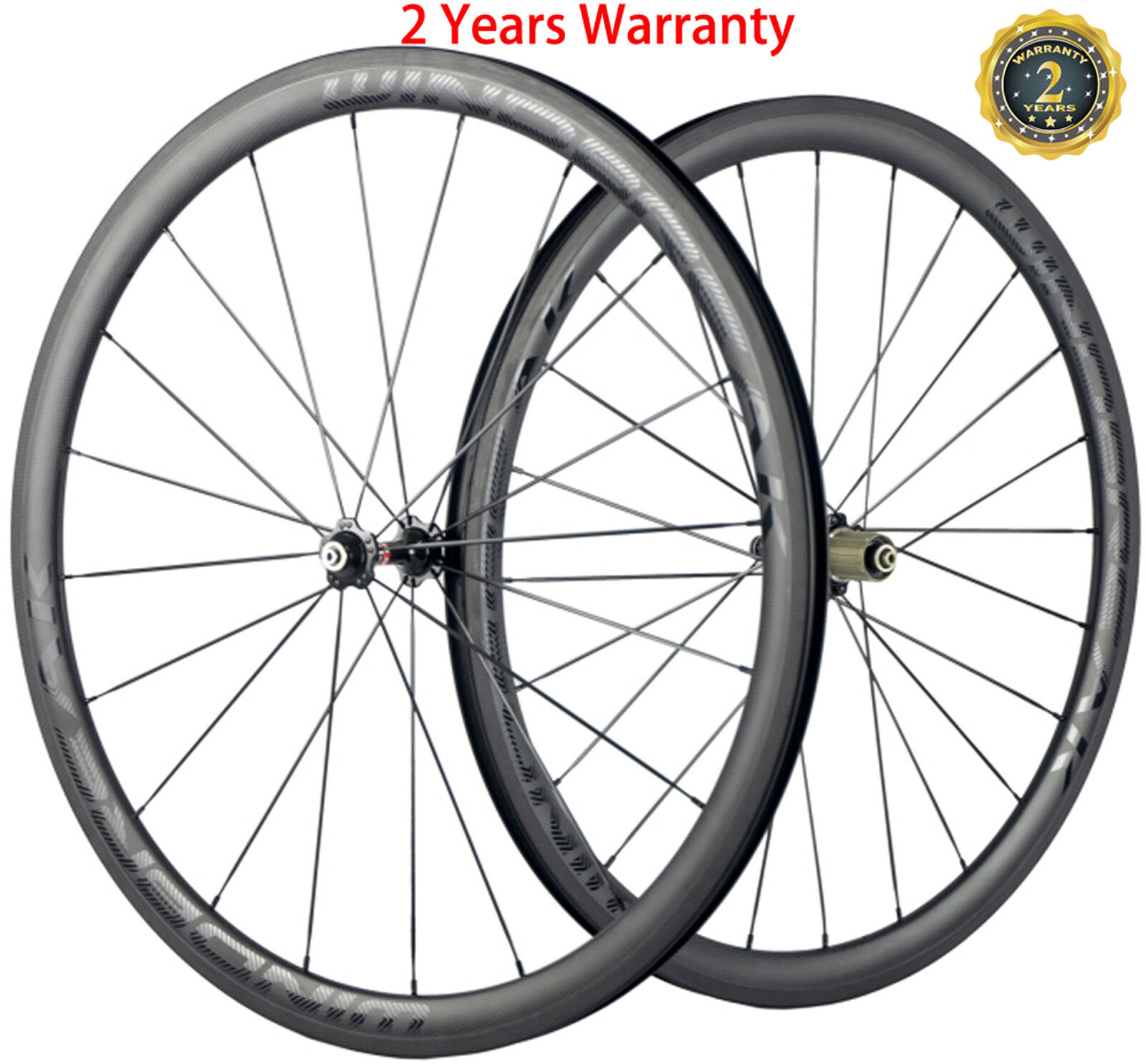 Full Carbon Fiber Wheels 38mm Clincher Bicycle  Cycle Wheelset 700C Shimano Matte  wholesale store
