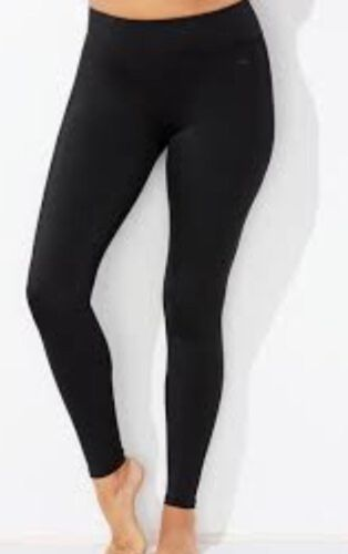 WOMENS LADIES 4.9 TOG THERMAL LEGGINGS FLEECE LINED INSULATED WINTER TROUSERS