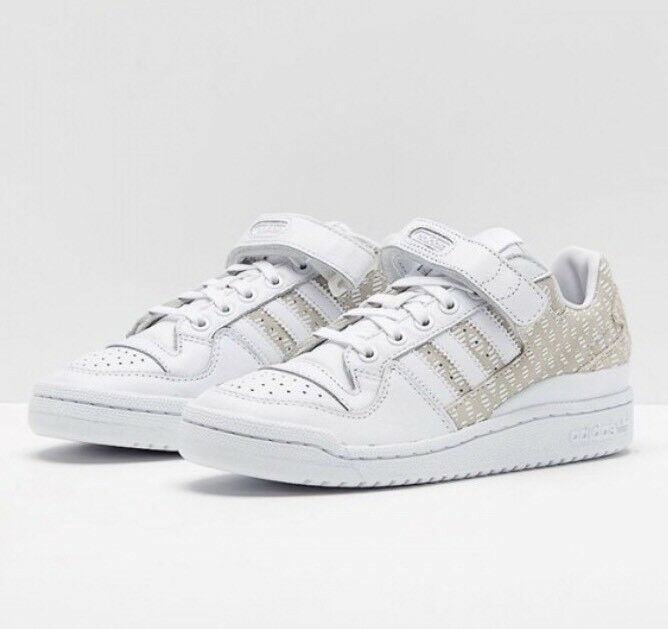 Adidas Forum LO Women's Running Leather shoes BY9348 White Size 7