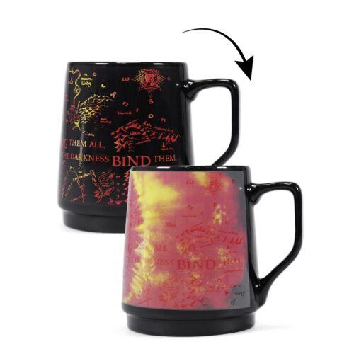 Der Herr der Ringe Tasse Thermoeffekt Sauron Wärmeeffekt Kaffeetasse Becher