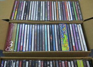 WHOLESALE-LOT-30-Music-Random-CD-039-s-Country-Classic-Rock-Pop-Rap-Various-Artists