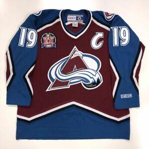 ccm avalanche jersey