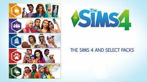 The Sims 4 All Expansion Packs Bundle Origin Global Pc Mac New Pal Free Uk P P Ebay