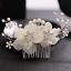 Luxury-Crystal-Rhinestone-Flower-Wedding-Bridal-Hair-Comb-Hairpin-Clip-Jewelry thumbnail 32