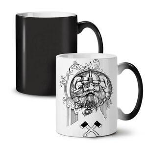 North Viking Warrior NEW Colour Changing Tea Coffee Mug 11 oz   Wellcoda