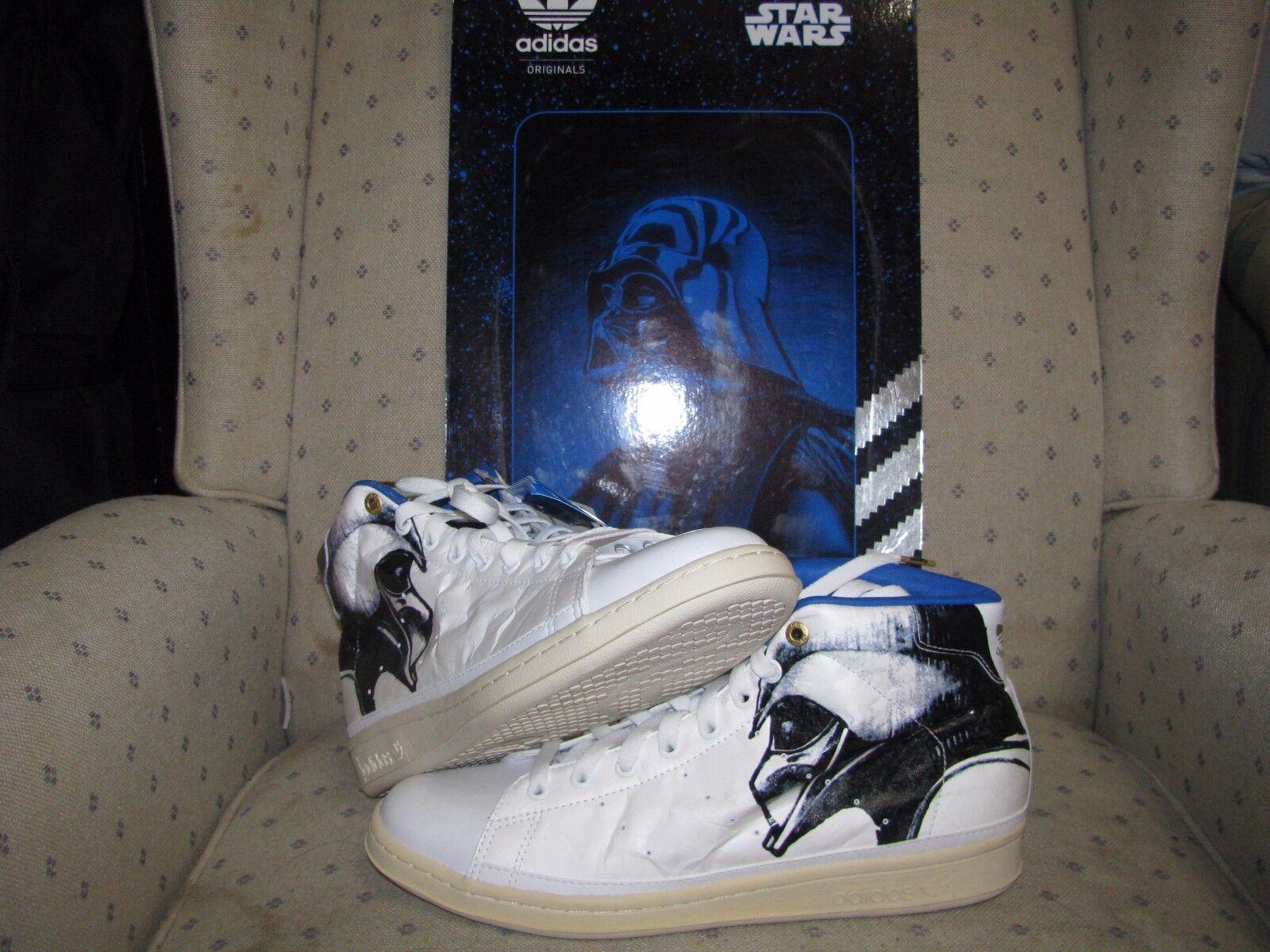 ADIDAS ORIGINALS STAR WARS DARTH VADER STAM SMITH 80s Han Solo Skywalker Rogue