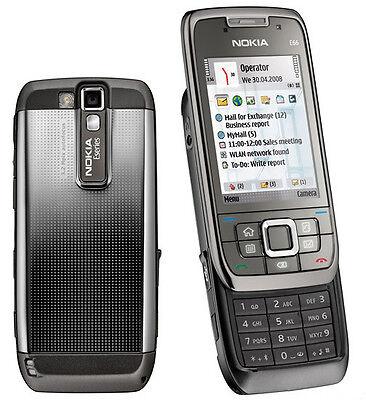 Nokia E66  Grey Steel Unlocked 3G WiFi Cellphone free shipping