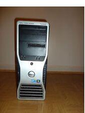 Dell Precision T5500 Tower Desktop 2x QUAD Xeon X5687 3.60GHz 72GB RAM 2TB DRIVE