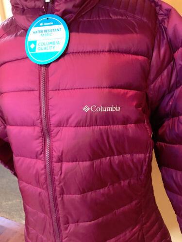 glace Columbia capuche 888667833724 femmes Puffer grand givrée Veste Nwt à pour Msrp 180 IxO0qWA