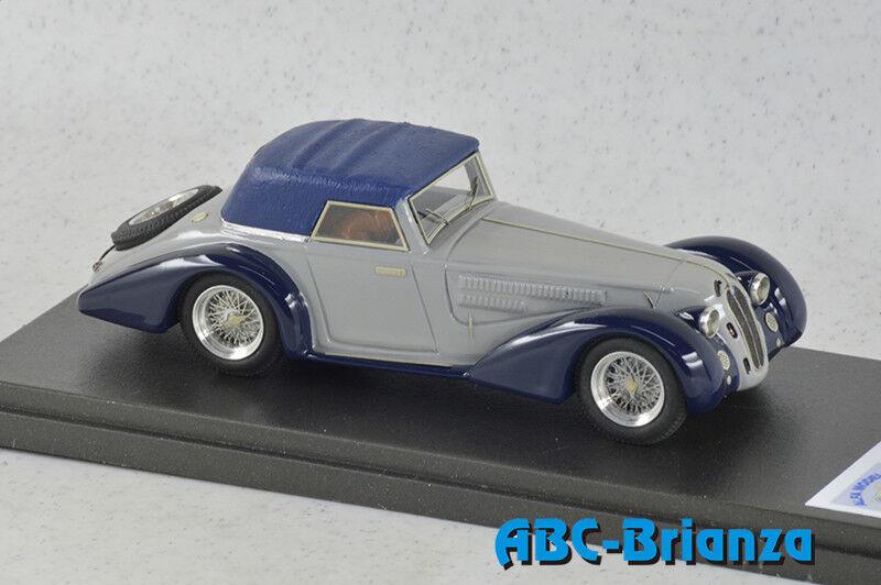 AM43292  ALFA ROMEO 8C 2300 CABRIOLET PININFARINA 1932 GREY blueE