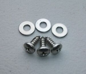 NEW-STAINLESS-STEEL-PETROL-TANK-FILLER-NECK-SPILL-TRAY-SCREWS-FOR-EH-HOLDEN