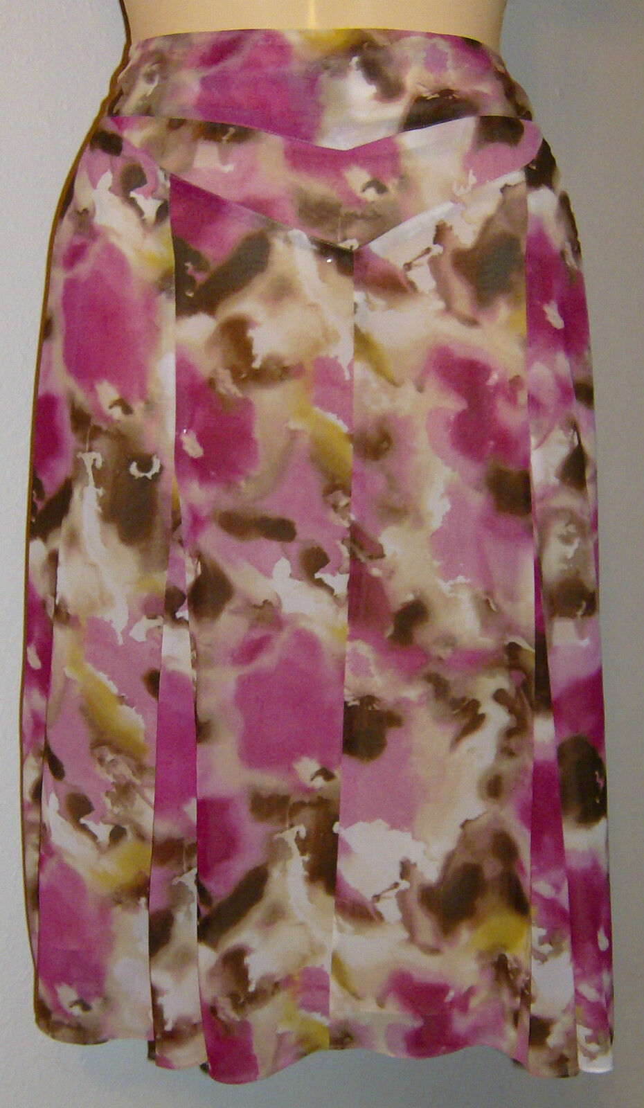 Jones New York Collection Skirt Size 4 San Remo Blossom Multi New with Tags