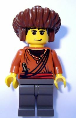 LEGO Adventurers 7417 Sherpa Sangye Dorje Minifigure w// Mongolian Hat Only NEW