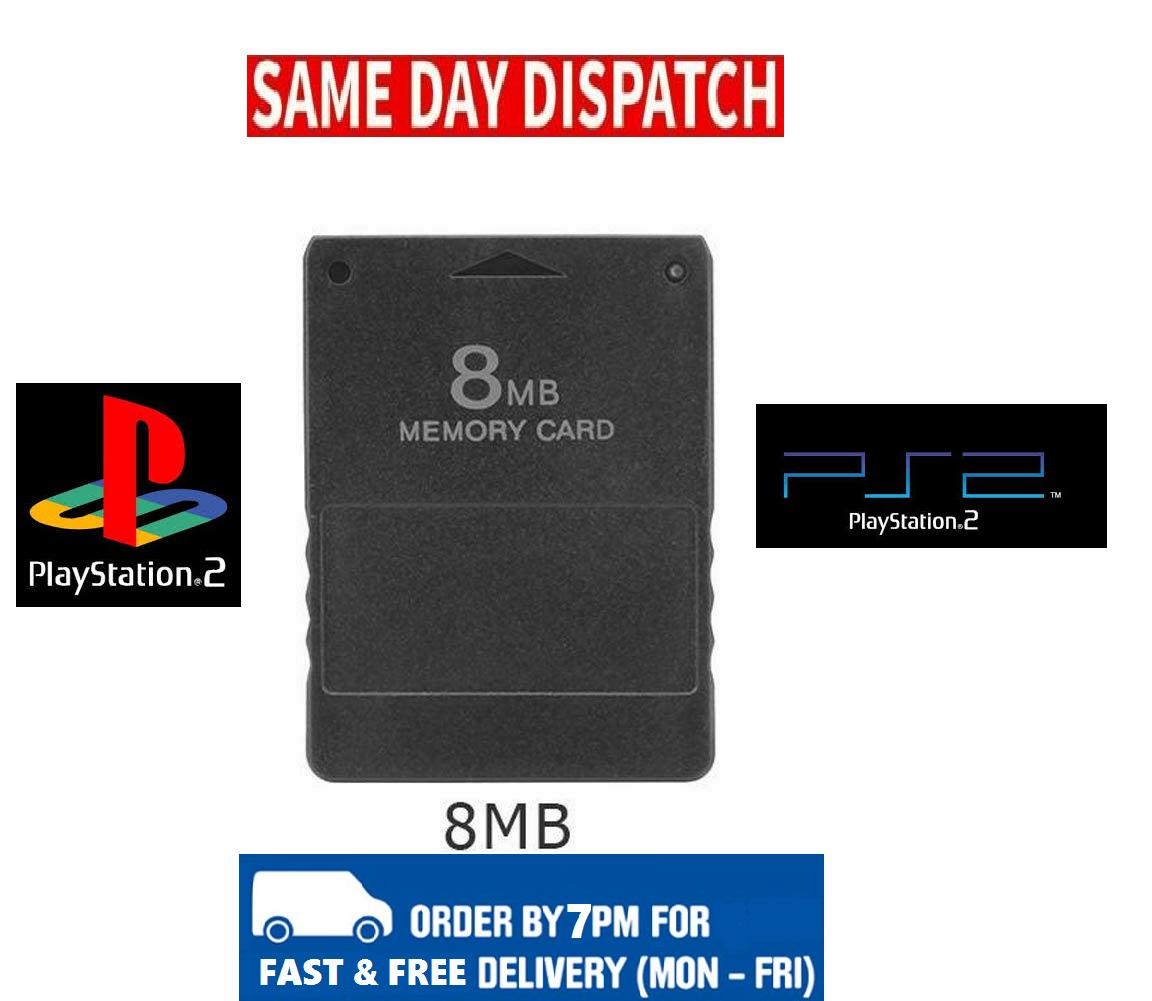 Playstation 2 PS2 8MB Memory Card